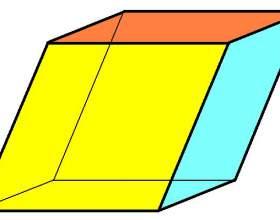 Как найти объем параллелепипеда через основание фото