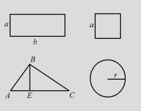 Как найти периметр если известна площадь фото