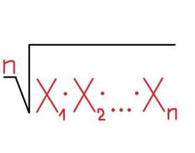 Как найти среднее геометрическое фото