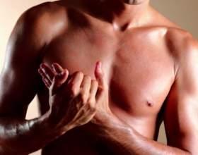 Как накачать грудь мужчине фото