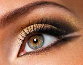 Как накрасить глаза черным фото