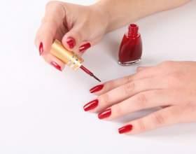 Как накрасить ногти дома фото