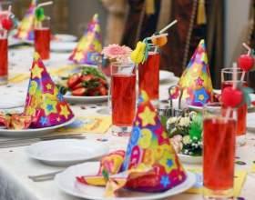 Как накрыть на стол ко дню рождения фото