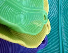 Как нанести узор на полимерную глину фото