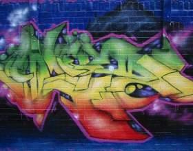 Как написать свое имя в граффити фото