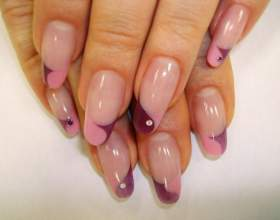 Как наращивать ногти на форму фото