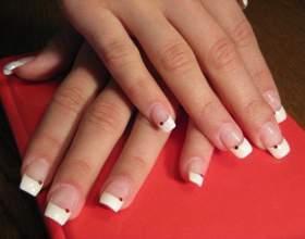 Как нарастить ногти гелем фото