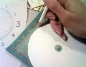 Как нарисовать циферблат фото