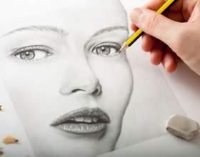 Как нарисовать лицо поэтапно фото