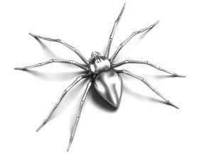 Как нарисовать паука фото