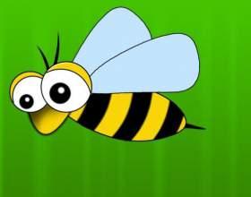 Как нарисовать пчелку фото