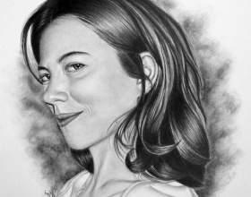 Как нарисовать портрет карандашом фото
