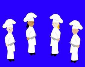 Как нарисовать повара фото