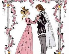 Как нарисовать принцессу с принцем карандашом поэтапно фото