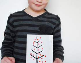 Как нарисовать простую новогоднюю открытку фото
