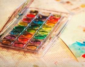 Как нарисовать рисунок акварелью фото