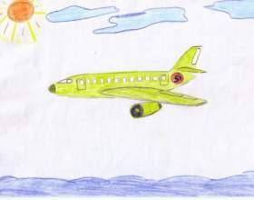 Как нарисовать самолетик фото