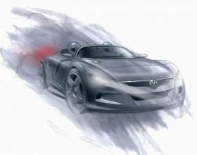 Как нарисовать спортивную машину фото