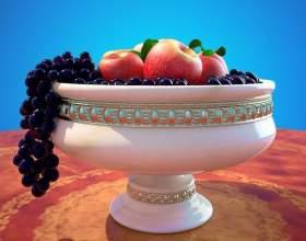 Как нарисовать вазу с фруктами фото