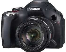 Как настроить canon powershot sx30 is фото