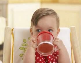 Как научить ребенка пить из кружки фото