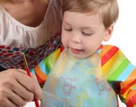 Как научить ребенка рисовать красками фото