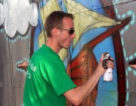 Как научить рисовать граффити фото