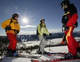 Как научиться катанию на лыжах фото
