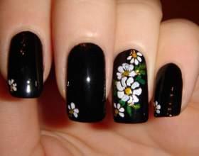 Как научиться рисовать на ногтях в домашних условиях фото