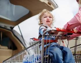 Как не допустить в магазине детской истерики фото