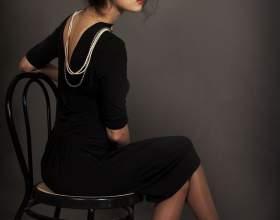 Как носить черное платье фото