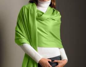 Как носить длинный шарф фото