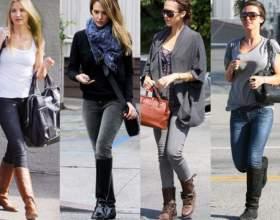 Как носить джинсы с сапогами фото