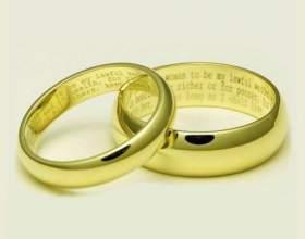 Как носить обручальное кольцо фото