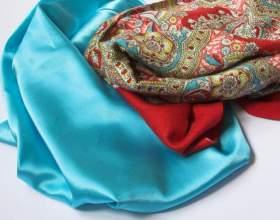Как носить шелковые платки фото
