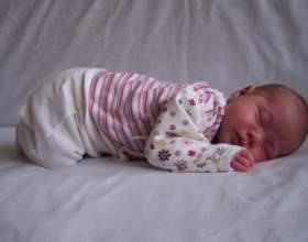 Как новорожденного уложить спать фото