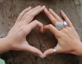Как нужно носить кольца фото