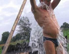 Как обливаться холодной водой фото