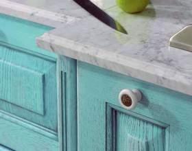 Как обновить старую кухонную мебель фото