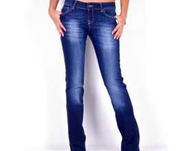 Как обрезать джинсы фото