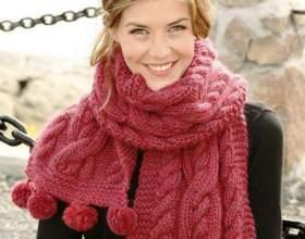 Как обвязать шарф красиво фото