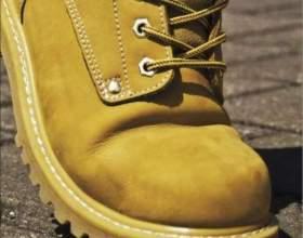 Как очистить ботинки от соли фото