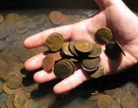 Как очистить бронзовую монету фото