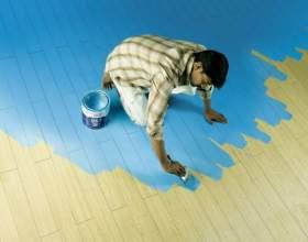 Как очистить пол от краски фото