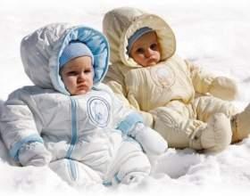 Как одеть малыша зимой фото