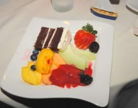 Как оформить фруктовую тарелку фото