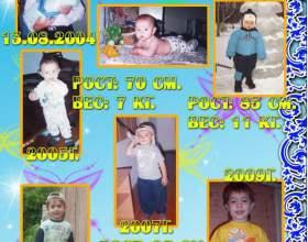 Как оформить портфолио ребенка фото