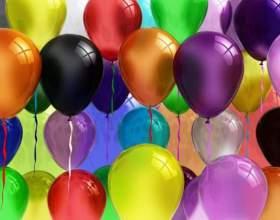 Как оформить праздник шарами фото