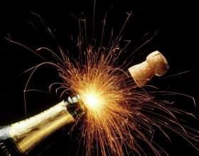 Как оформить шампанское на новый год фото