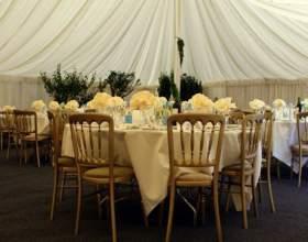 Как оформить стол на свадьбу фото